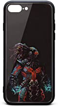 iPhone 7/8 Plus Case Mortal-Kombat-X-Fanart-on-Behance-Black- Slim Anti-Scratch Shockproof Protective Case Protection TPU Soft Rubber Silicone Phone Case Cover iPhone 7/8 Case [5.5 Inch]
