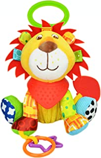 Ukallaite Baby Lovely Soft Rabbit Bear Stars Bed Stroller Boutique Car Hanging Plush Toys