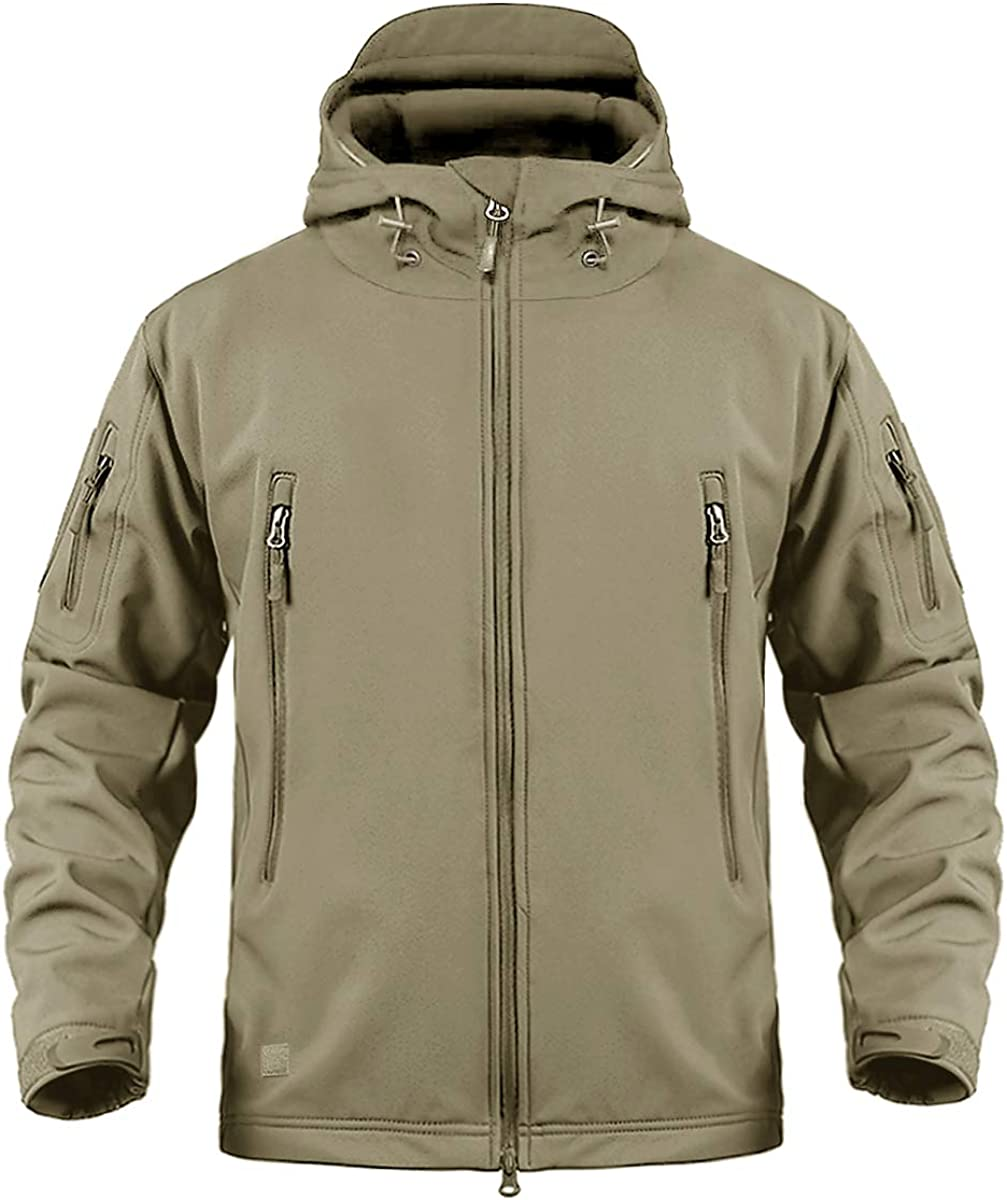 CRYSULLY Men's Outdoor Climbing Windproof Tactical Ranking TOP5 Shell Soft Ja Max 87% OFF