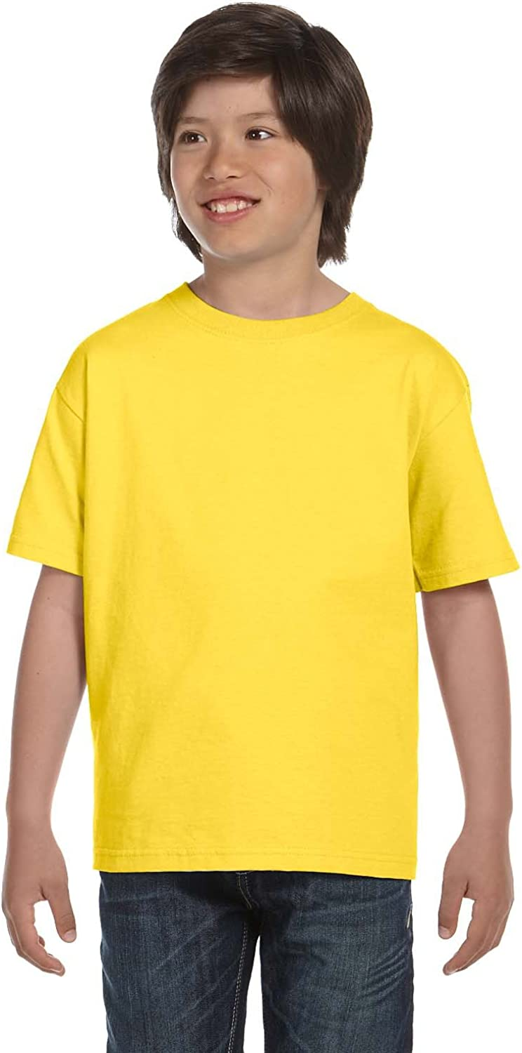 Product of Brand Gildan Youth DryBlend 56 oz, 50/50 T-Shirt - Daisy - XS - (Instant Savings of 5% & More)