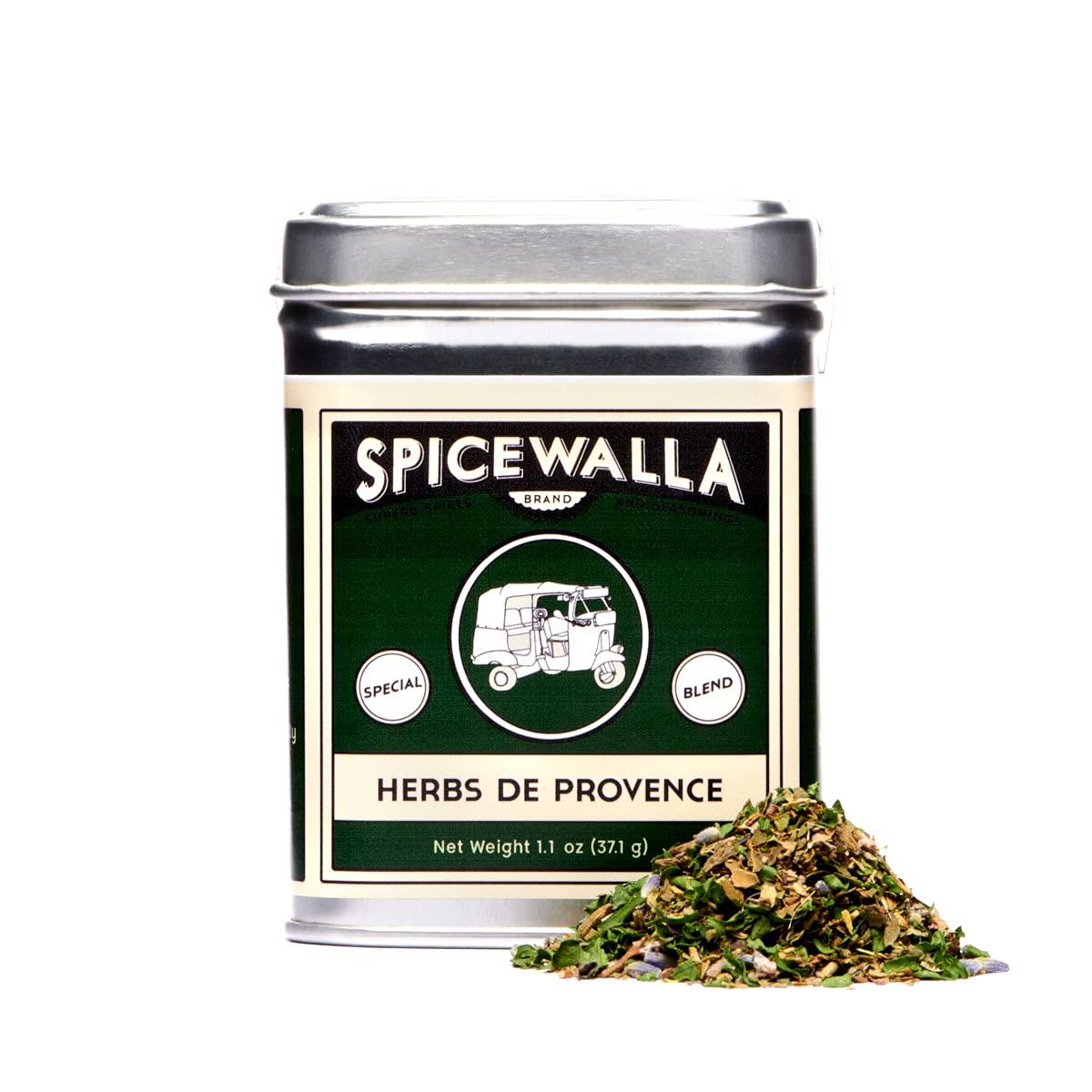 Spicewalla Herbs De Provence 1.1 oz | Non-GMO, Gluten Free, No MSG | Herbs De Provence Seasoning
