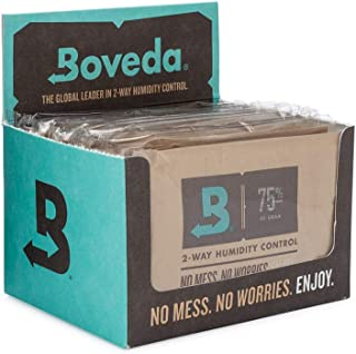Boveda for Cigars/Tobacco | 75% RH 2-Way Humidity Control | Size 60 for Use with Every 25..