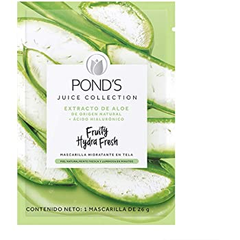 POND'S Cuidado Facial Fruity Hydra Fresh Aloe, Mascarilla, 26 G