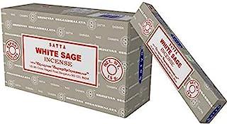 Satya Nag Champa White Sage Incense sticks-12packs x 15grams