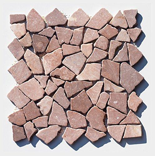 M-023 Bruchstein Marmormosaik Mosaikfliesen