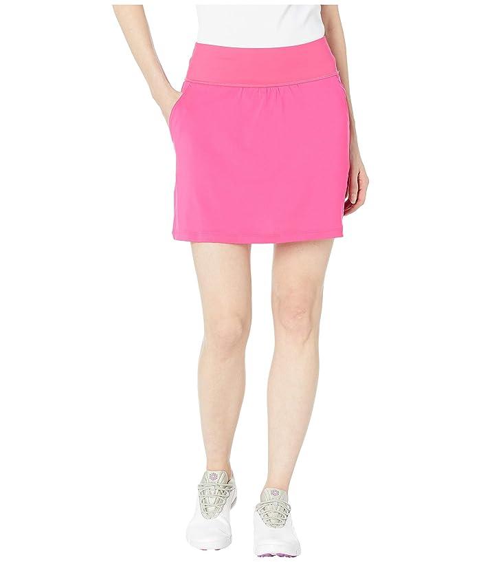 PUMA Golf PWRSHAPE Solid Knit Skirt (Fuchsia Purple) Women