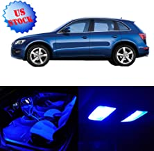 SCITOO LED Interior Lights 14pcs Blue Package Kit Accessories Replacement for 2009-2017 Audi Q5