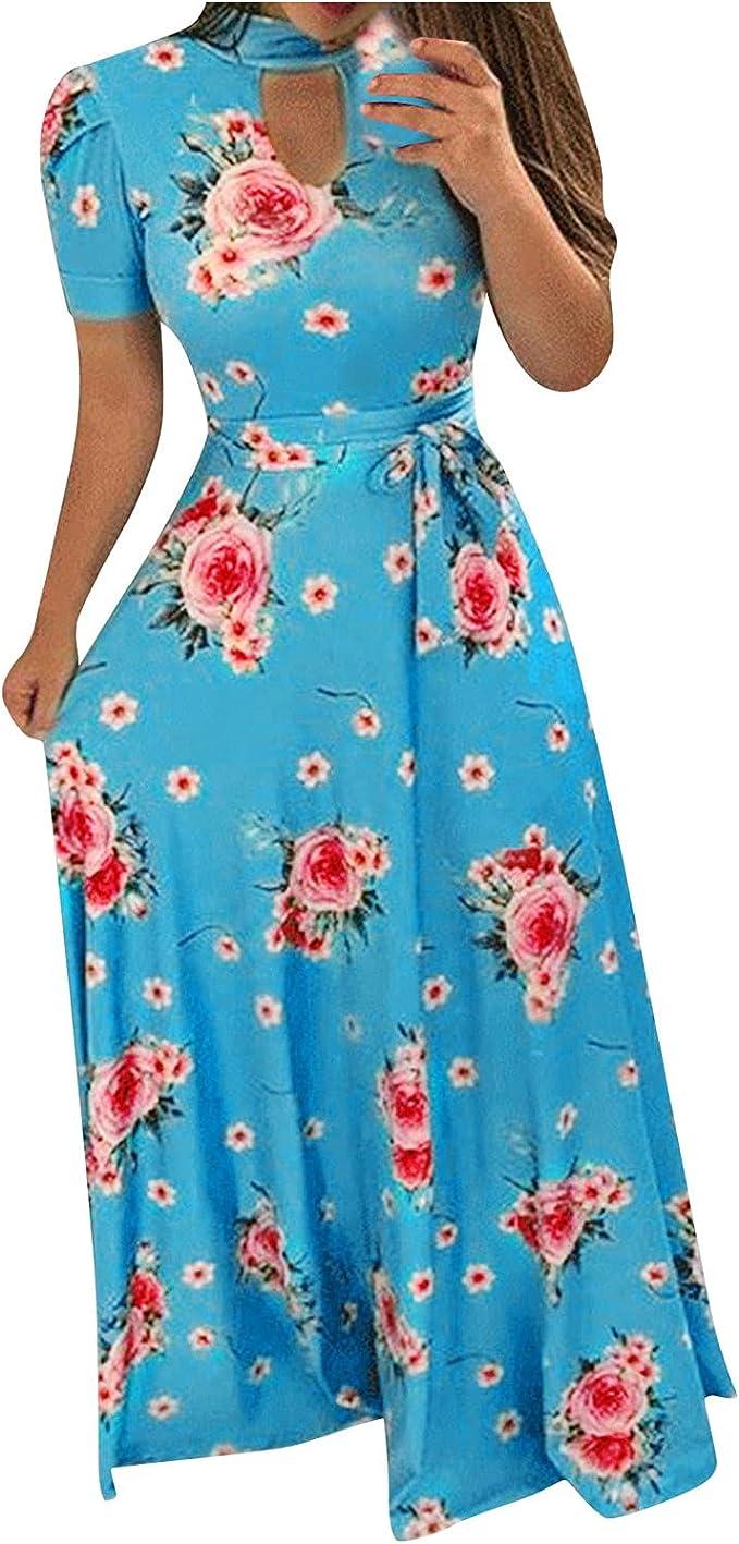 LOPILY Damen Abendkleid Große Größen Sadin V Ausschnitt Cocktail Kleid Hohe  Taillen Chiffonkleid Übergrößen Festliche Kleider für Damen Große Größen ...