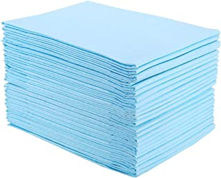 Disposable Incontinence Bed Pads, Homkare Disposable Underpads, 1500ml Maximum Absorbency Disposable Waterproof Bed Pads, ...