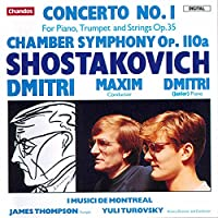 Piano Concerto 1 / Chamber Symphony Op 110a
