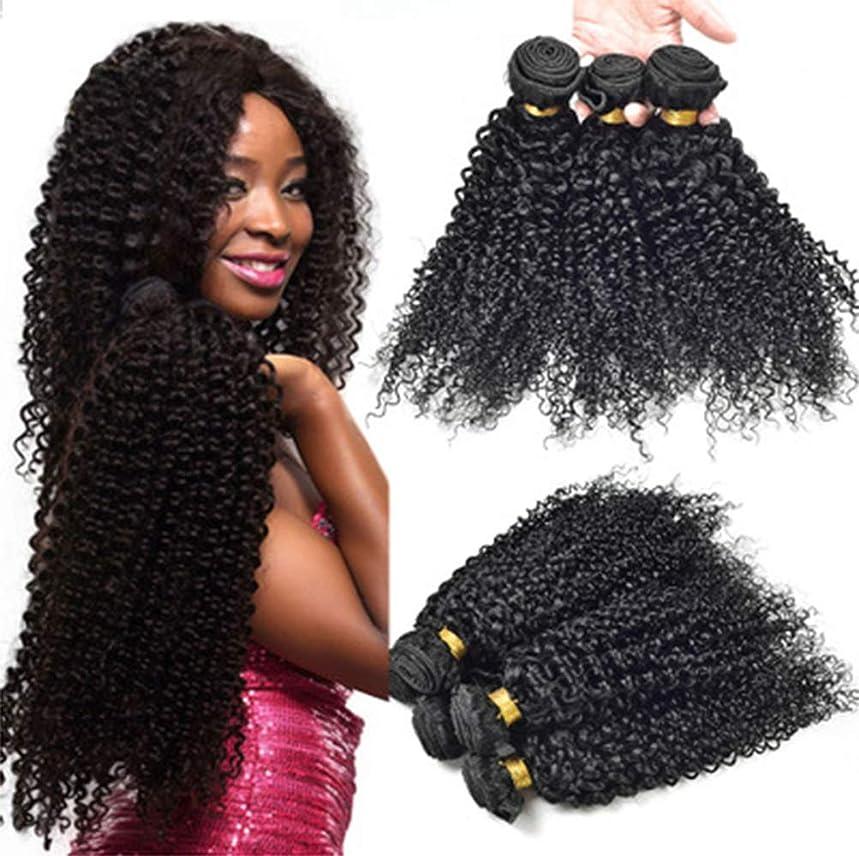 グレートバリアリーフモニター批判女性の髪織り密度150%1バンドルディープウェーブブラジルの人間の髪織りソフトディープカーリーバージンヘア横糸未処理のブラジルの髪