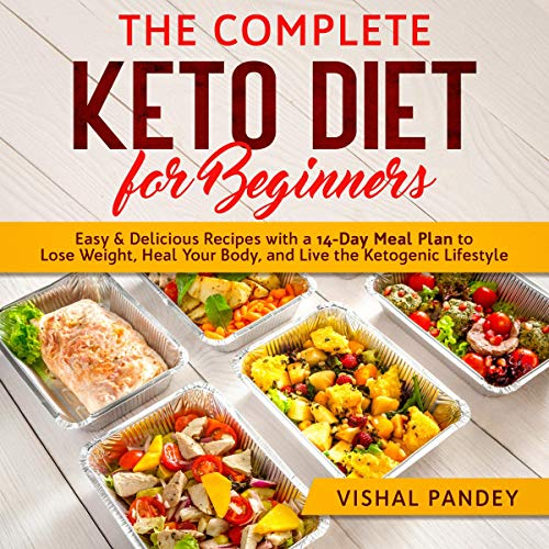 The Complete Keto Diet for Beginners cover art