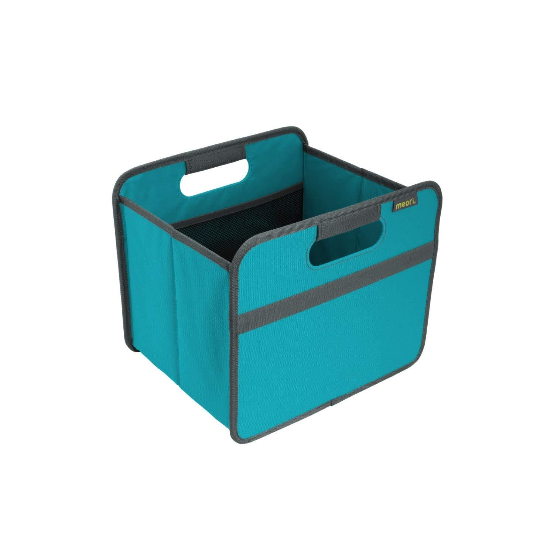 meori Faltbare Mini-Aufbewahrungsbox Marineblau gl/änzend 1 St/ück