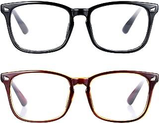 Non-prescription Glasses Frame Clear Lens Eyeglasses...