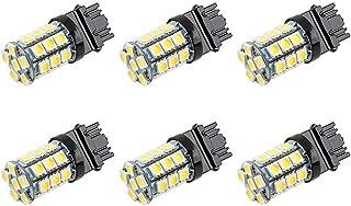 Makergroup S8 3156 Wedge Base LED Light Bulb 12VAC/DC Low Voltage 4Watt Warm White 2700K-3000K for Outdoor Landscape Lighting Pathway Deck Step Paver Lights,Driveway Lights 6-Pack
