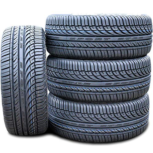 Set of 4 (FOUR) Fullway HP108 All-Season Performance Radial Tires-185/60R15 185/60/15 185/60-15 84H Load Range SL 4-Ply BSW Black Side Wall
