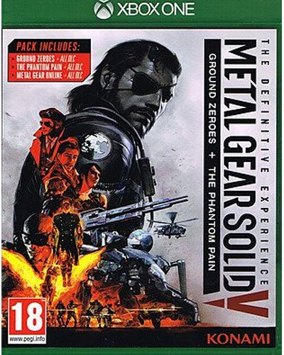 MGS 5 XB-One Definitive Exp. AT Metal Gear Solid 5 + Ground Zeroes + DLC