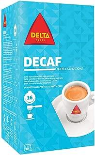 DELTA DECAF Espresso ESE Pods / Servigs - 2 x 16 = 32 ESE pods