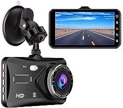 "$75 » ilikfe Radar Detector Car D-V-R Dash Cam Car Video Recorder Dual Lens Full HD 1080P 4"" IPS Vehicle Camera Front+Rear Night..."