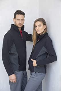 Henbury Adults Unisex Contrast Soft Shell Jacket
