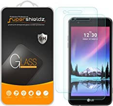 (2 Pack) Supershieldz for LG Rebel 3 LTE Tempered Glass Screen Protector, Anti Scratch, Bubble Free