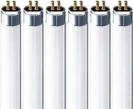 (6 Pack) F54T5/841/HO 54 Watt T5 HO High Output Fluorescent Tube Light 54W F54T5-4100K Replaces F54T5/HO F54T5/HO/841 F54W/T5/841/ECO FP54/841/HO/ECO F54T5/841/HO/ALTO