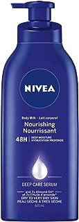 NIVEA Extra Nourishing Body Milk for Dry Skin 21.1 fl. oz