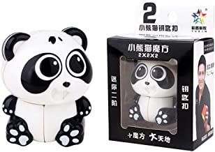Westeng Porte-Cl/és en M/étal Artisanat Cr/éatif Mignon Panda Cartoon accroch/é Trousseau Keychain Pendentif D/écoration