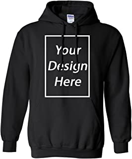 Add Your Own Text and Design Custom Personalized Sweatshirt Hoodie