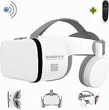هدست واقعیت مجازی سه بعدی با بلوتوث از راه دور بی سیم ، عینک 3D VR برای تلویزیون ، فیلم