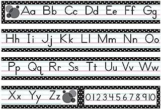 Teacher Created Resources Black Polka Dots Traditional Printing Mini Bulletin Board (5788)