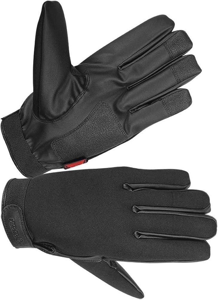 Hugger Women's Neoprene Motorcycle, Police, Warm Winter Glove