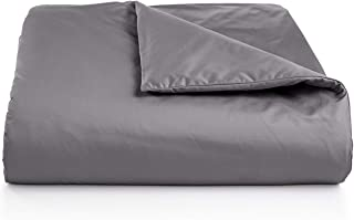 Charter Club Full Queen Damask Solid Duvet Comforter Cover 550TC Solid Ash Gray