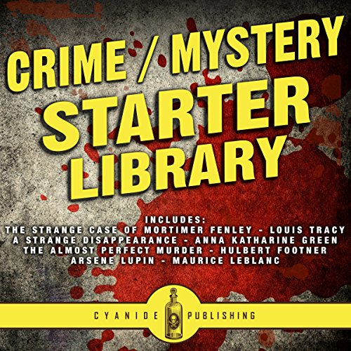 Crime/Mystery Starter Library audiobook cover art