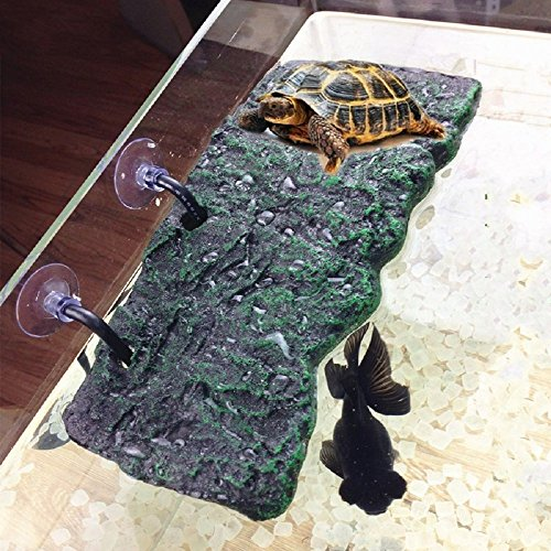BigTron Turtle Dock Floating Turtle Pier Rectangular Terrapin Dock PU Foam Aquarium Float Decoration Bask Terrace Climb Brazilian Tortoise flotador Tortuga acuario