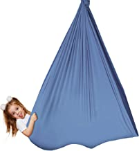 Grassman Sensory Swing, Indoor and Outdoor Therapy Swing for Kids with Special Needs, Snuggle Swing Adjustable Cuddle Hamm...