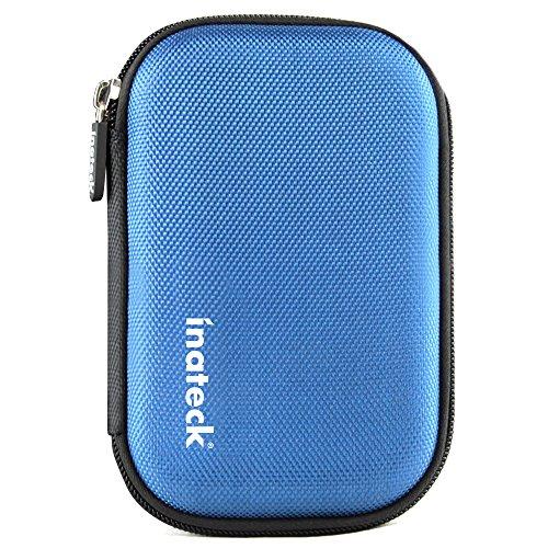 Inateck 2,5'Unidad de Disco Duro HDD de protección de la Cremallera del Bolso Llevar...