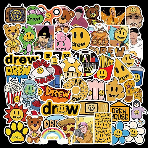 YCYY 50 Justin Bieber Stickers Tidal Stickers DIY Suitcase Laptop Phone Water Cup