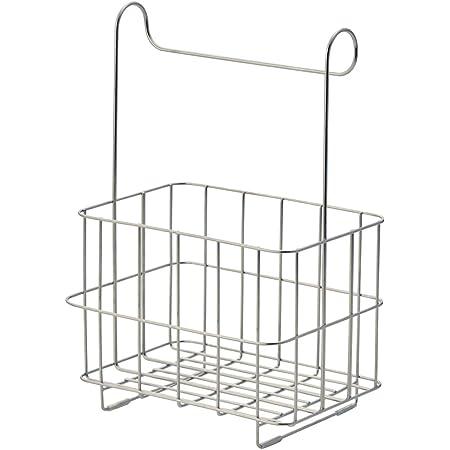 [ベルメゾン] バスラック バーに掛けられる ステンレス 浴室用ラック