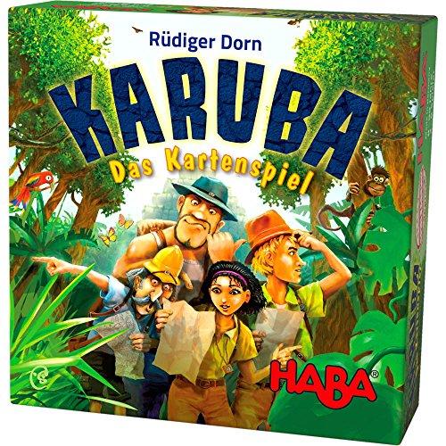 Haba 303474 Karuba - Das Kartenspiel