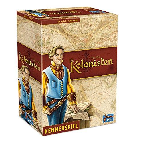 Lookout Games 22160087 - Die Kolonisten, Kennerspiel von Tim Puls