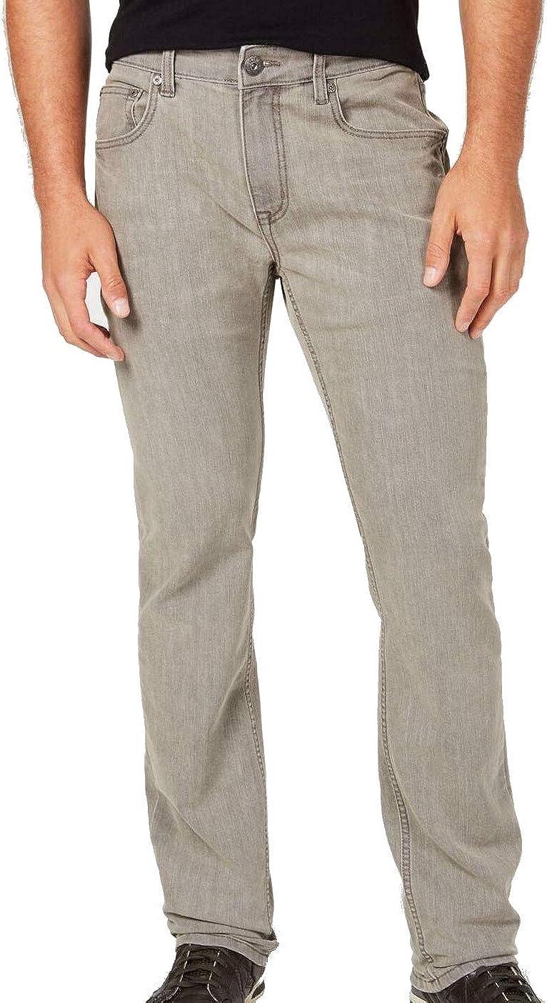 I.N.C. International Concepts INC Mens Gray Straight Leg Slim Fit Denim Jeans 36W/ 32L