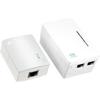 TP-Link WiFi 中継機 PLCアダプター TL-WPA4220 KIT 11n 300Mbps 無線LAN 有線LAN コンセント 2台 キット 総務省指定