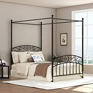 Best canopy style bed Reviews