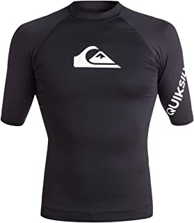 Quiksilver Men's All Time Short Sleeve Rashguard UPF 50+...