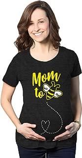 Maternity Mom to Bee Pregnancy Tshirt Funny Bumblebee Tee