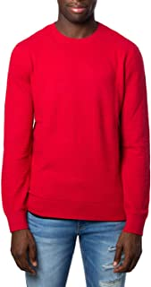 Luxury Fashion | Armani Exchange Mens 6GZM2DZM8BZRED Red Sweater | Fall Winter 19