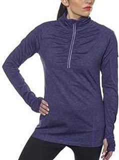 Kirkland Signature Women's Active1/4 Zip Ruffled Pullover
