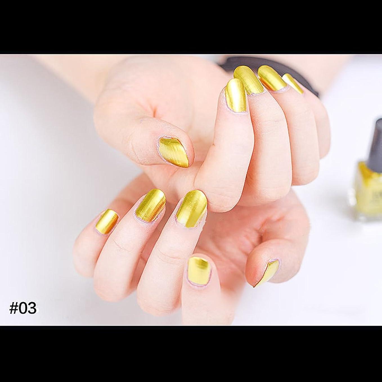 お誕生日比喩保証金hjuns-Wu マニキュア パール感 1ボトル 6ml ネイルポリッシュ(黄色)