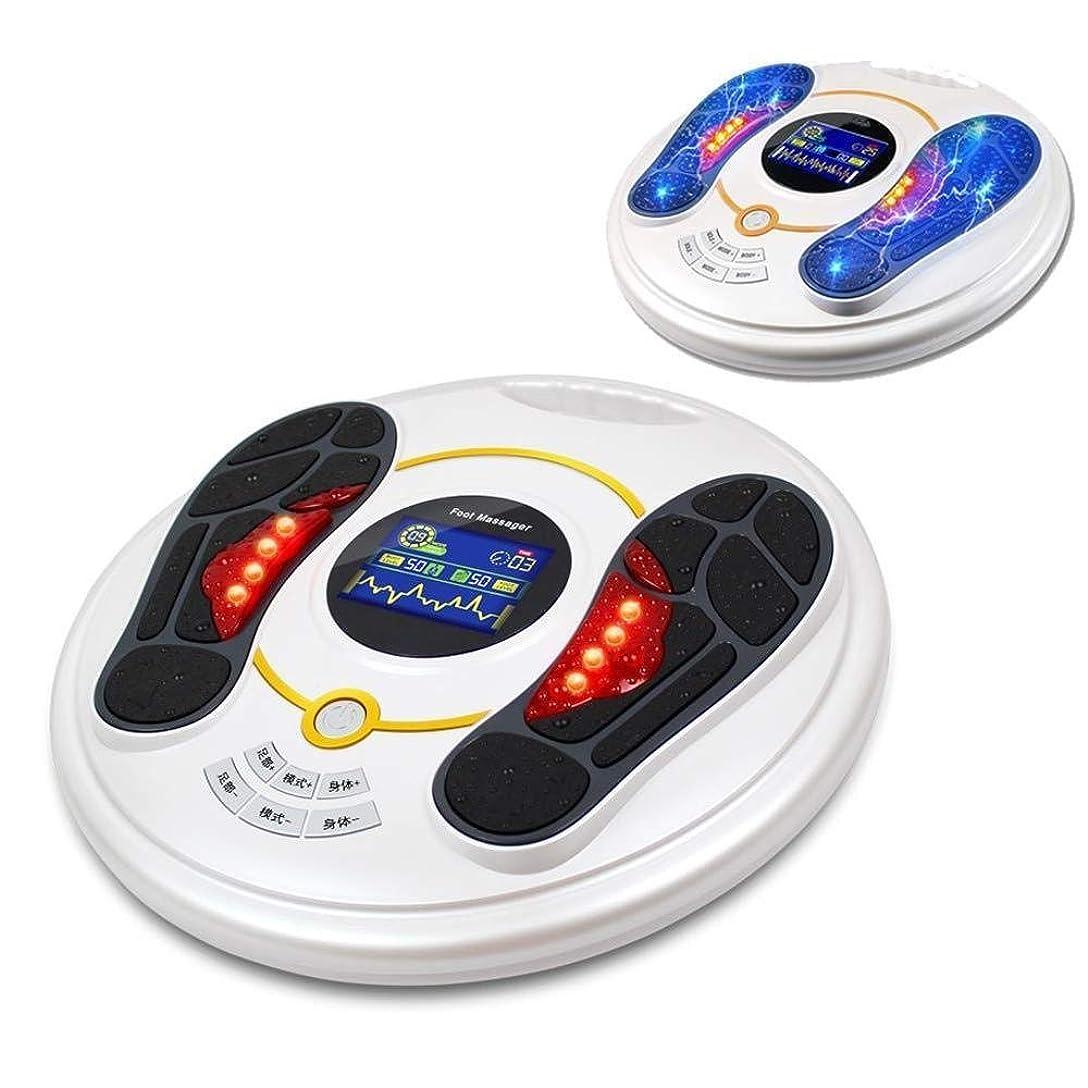 スライス精度便利フットマッサージャー 電気 筋肉 パルスマッサージ療法 エレクトリック 足裏マッサージ器 フットマッサージ機 空気圧 指圧 赤外線足マッサージ器 家庭用